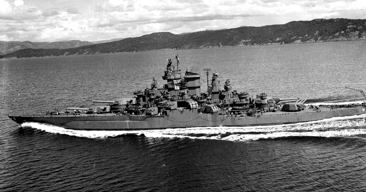Personal fav pic of USS Tennessee